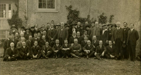 Inaugural Annual Meeting of ASM, 1919